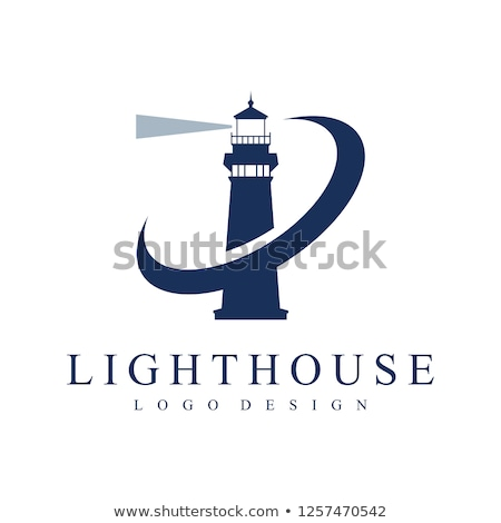vector silhouette graphic lighthouse stock photo © vetrakori