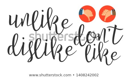 zoals · icon · verschillend · stijl · kleur · vector - stockfoto © pikepicture
