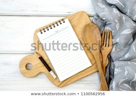 Stok fotoğraf: Hat · yemek · hazırlama · ayarlamak · yer