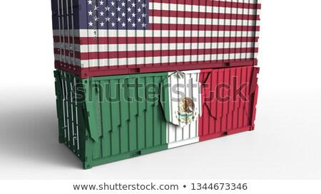 Zdjęcia stock: Usa Mexico Trade War
