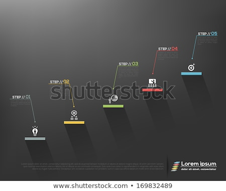 analityka · statystyka · wykres · linie · fale · grafiki - zdjęcia stock © robuart