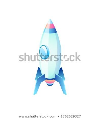 Stockfoto: Raket · symbool · business · uitrusting · schip · vector