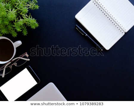 Topview of working business desktop.  stock photo © ijeab