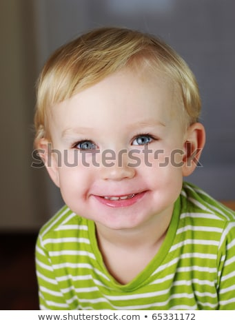 Happy 2 years old baby boy. Kid is smiling, grinning. Stock photo © Lopolo