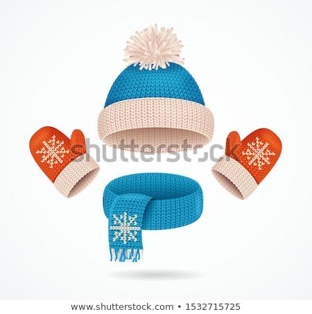 Collectie verschillend mode warm kleding Stockfoto © Margolana