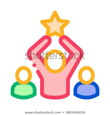 Humaine talent vecteur mobiles Photo stock © pikepicture