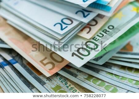 Dollár zöld bankjegyek pénzügy vagyonos papírok Stock fotó © robuart