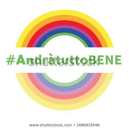 Stock photo: Hope Rainbow Symbol