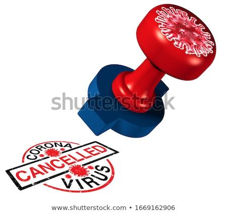 Stock photo: Coronavirus Cancelled