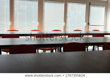 捨てられた ウイルス 空っぽ 会議室 ビジネス オフィス ストックフォト © Giulio_Fornasar