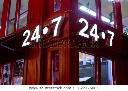 Externe façade classique bâtiment européenne Night City Photo stock © Anneleven