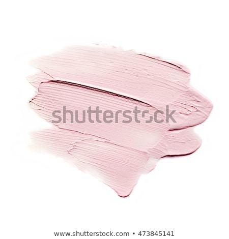 Pink paint smear Stock photo © goir