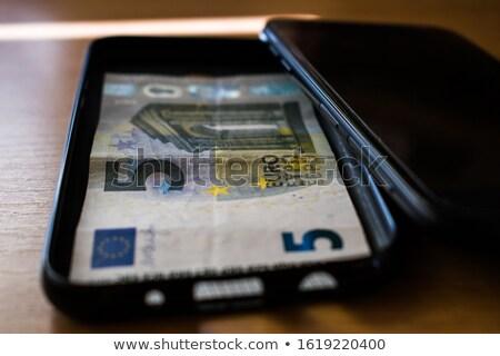teléfono · euros · móviles · concepto · dinero · tecnología - foto stock © fenton