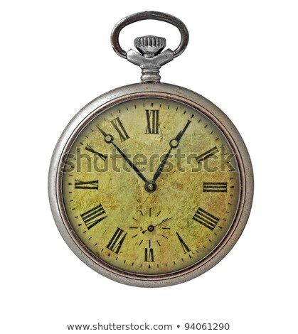 Silver and gold old pocket watches Stock photo © elly_l