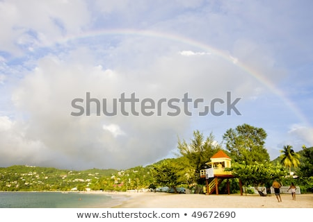 Grand Anse Bay, Grenada Stock photo © phbcz