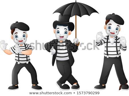 Cartoon Mime Stock photo © blamb