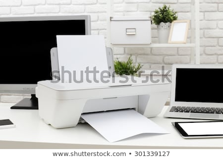Stock photo: Computers Printers Technology