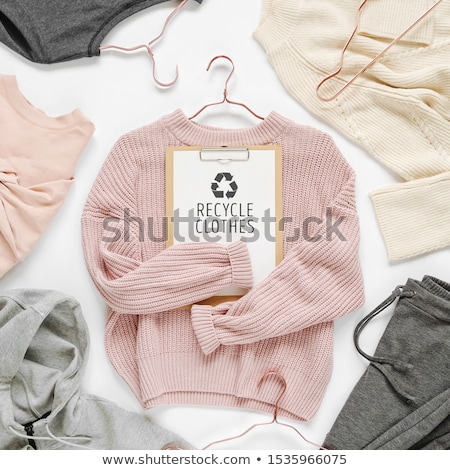 collage of a woman recycling stock photo © photography33