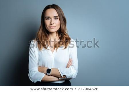 честолюбивый деловая женщина бизнеса работу портрет работник Сток-фото © photography33