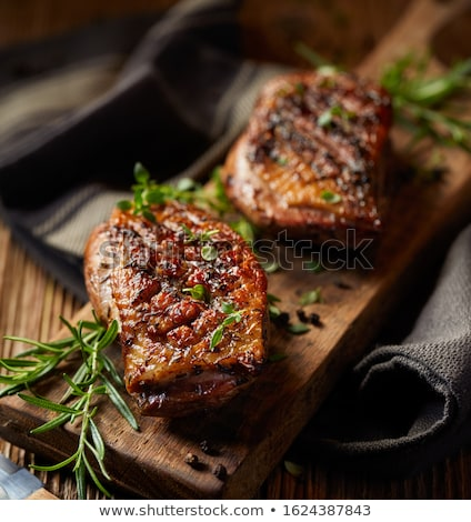 roasted duck breast stock photo © m-studio
