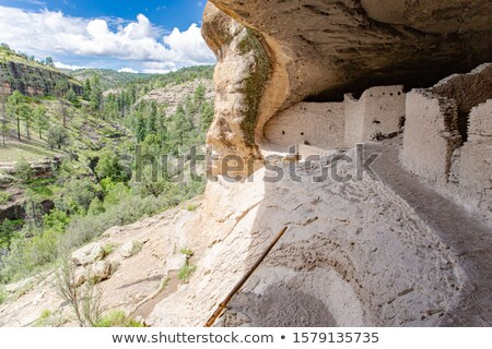Cliff Dwelling Stock photo © gregory21