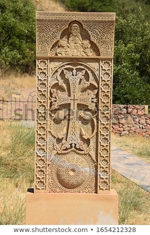 Armenian cross-stones Stock photo © ruzanna