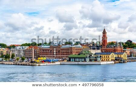 haven · Zweden · augustus · 2012 · schip - stockfoto © Alenmax