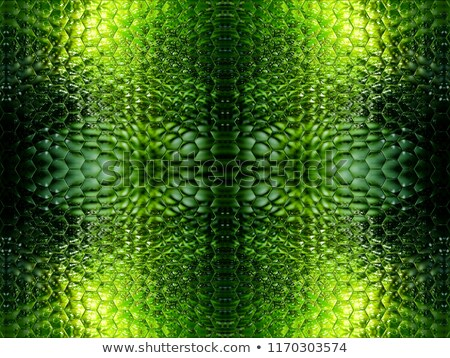 seamless puzzle with mixed green forest Stock photo © robertosch