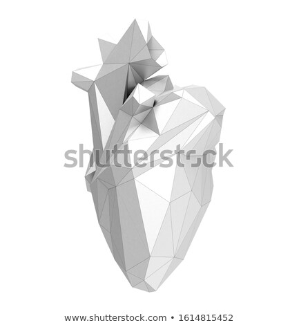 Цифровая иллюстрация человека сердце аннотация кровь больницу Сток-фото © 4designersart