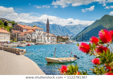 view of kotor town in montenegro Stock photo © travelphotography