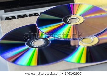 Cd twee verschillend weefsel video digitale Stockfoto © marekusz