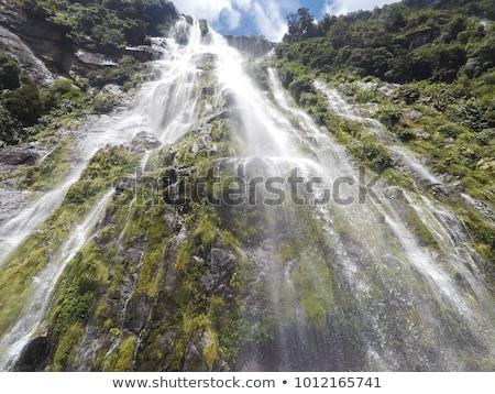 twijfelachtig · geluid · mooie · New · Zealand · water · landschap - stockfoto © hofmeester