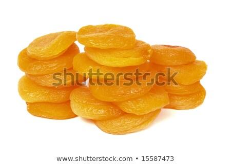 essiccati · colonna · isolato · bianco · frutta · gruppo - foto d'archivio © timbrk
