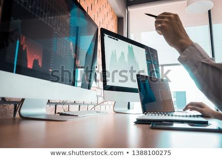 Stocks and Shares Search Stock photo © chrisdorney