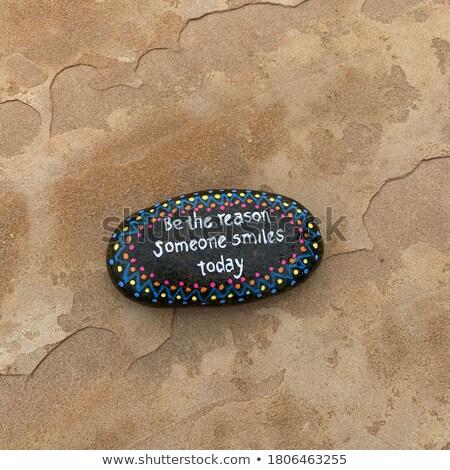 Hoje palavras areia água textura fundo Foto stock © kawing921