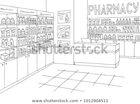 drugstore sketch images Stock photo © glorcza