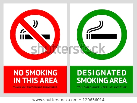 No smoking area stock photo © Aiel