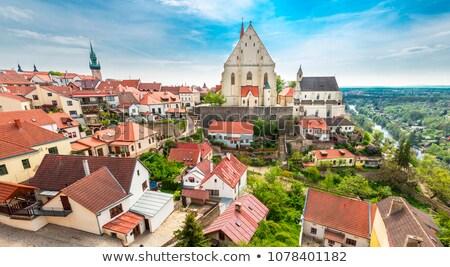 町役場 塔 チェコ共和国 市 世界 都市 ストックフォト © Bertl123