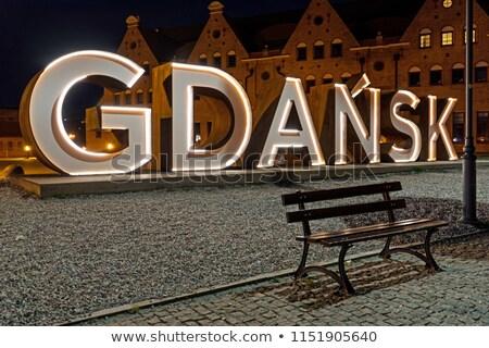 panorama · gdansk · vieille · ville · rivière · Pologne · ville - photo stock © sqback