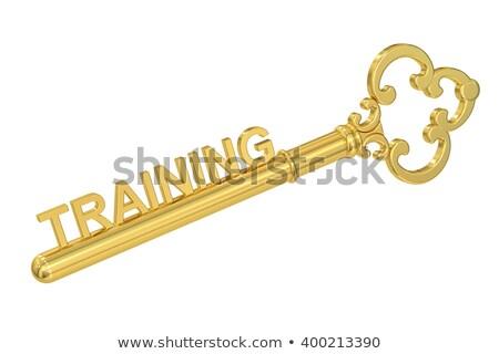 training   golden key stock photo © tashatuvango