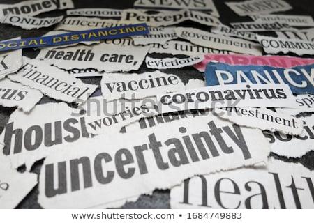 Uncertainty Stock photo © silent47