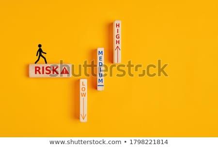 risico · oplossingen · verandering · business · idee · zakenman - stockfoto © lightsource