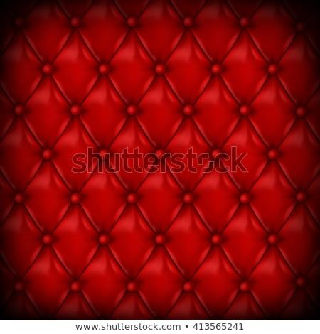 vector red leather upholstery background Stock photo © freesoulproduction