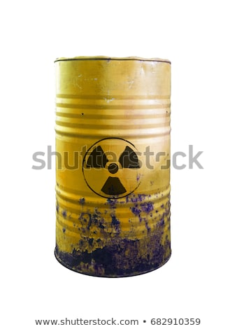Barrel with radiation sign Stock photo © gladiolus
