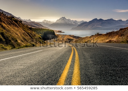 landscape with road Stock photo © Andriy-Solovyov