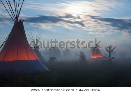 Native American wigwam hut Stock photo © Bertl123