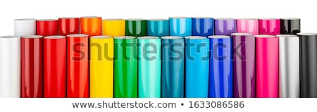 colorido · toca · disco · cores · tiro · estúdio - foto stock © shawlinmohd