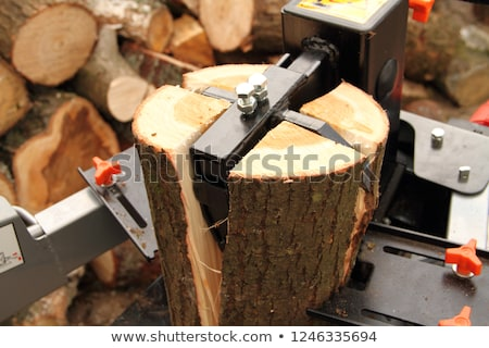 wood splitter Stock photo © jarin13