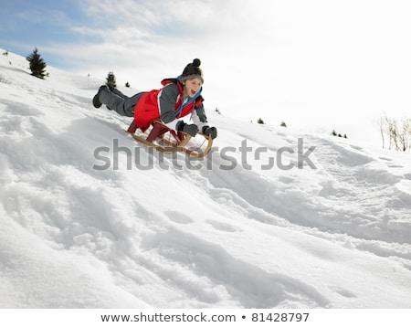 Pre-teen Boy On Winter Vacation Stock photo © monkey_business