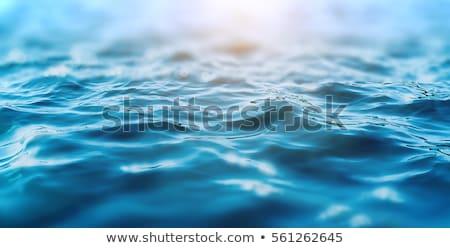 синий морем волны красоту пространстве путешествия Сток-фото © EwaStudio